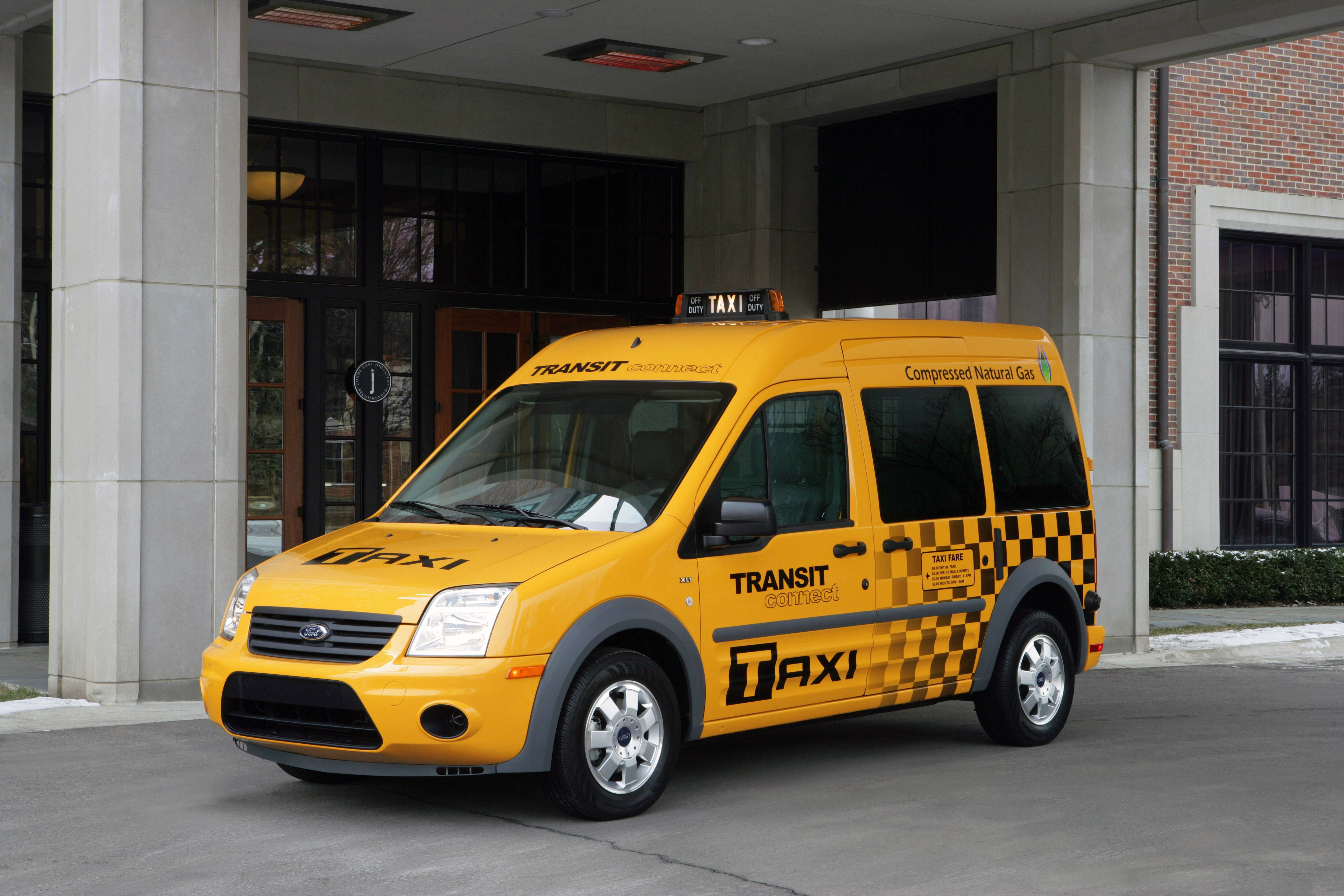 New England Cab Company Adds 35 CNG-Fueled Ford Transit Connect Taxis