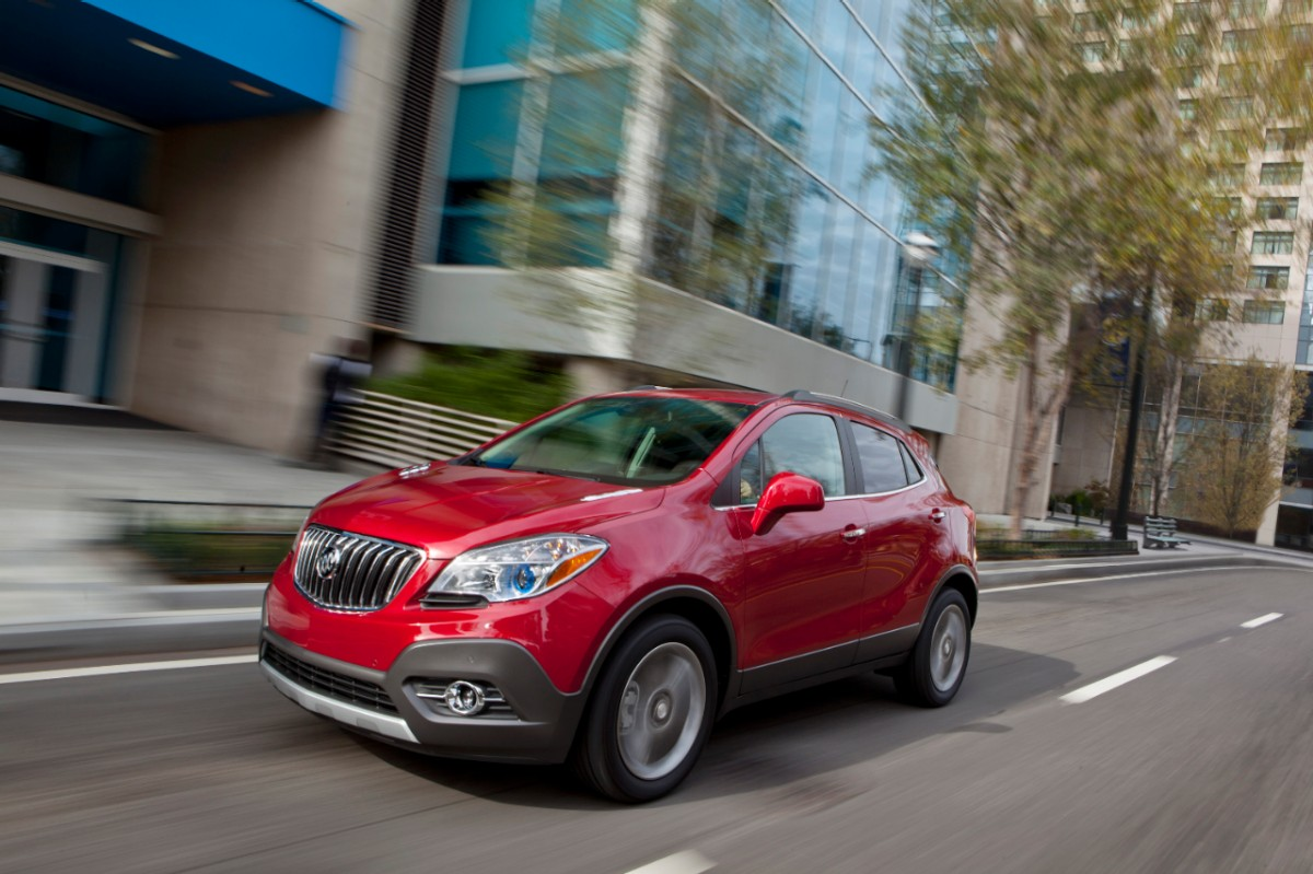 2013 Buick Encore Draws Top Safety Ratings from IIHS, NHTSA