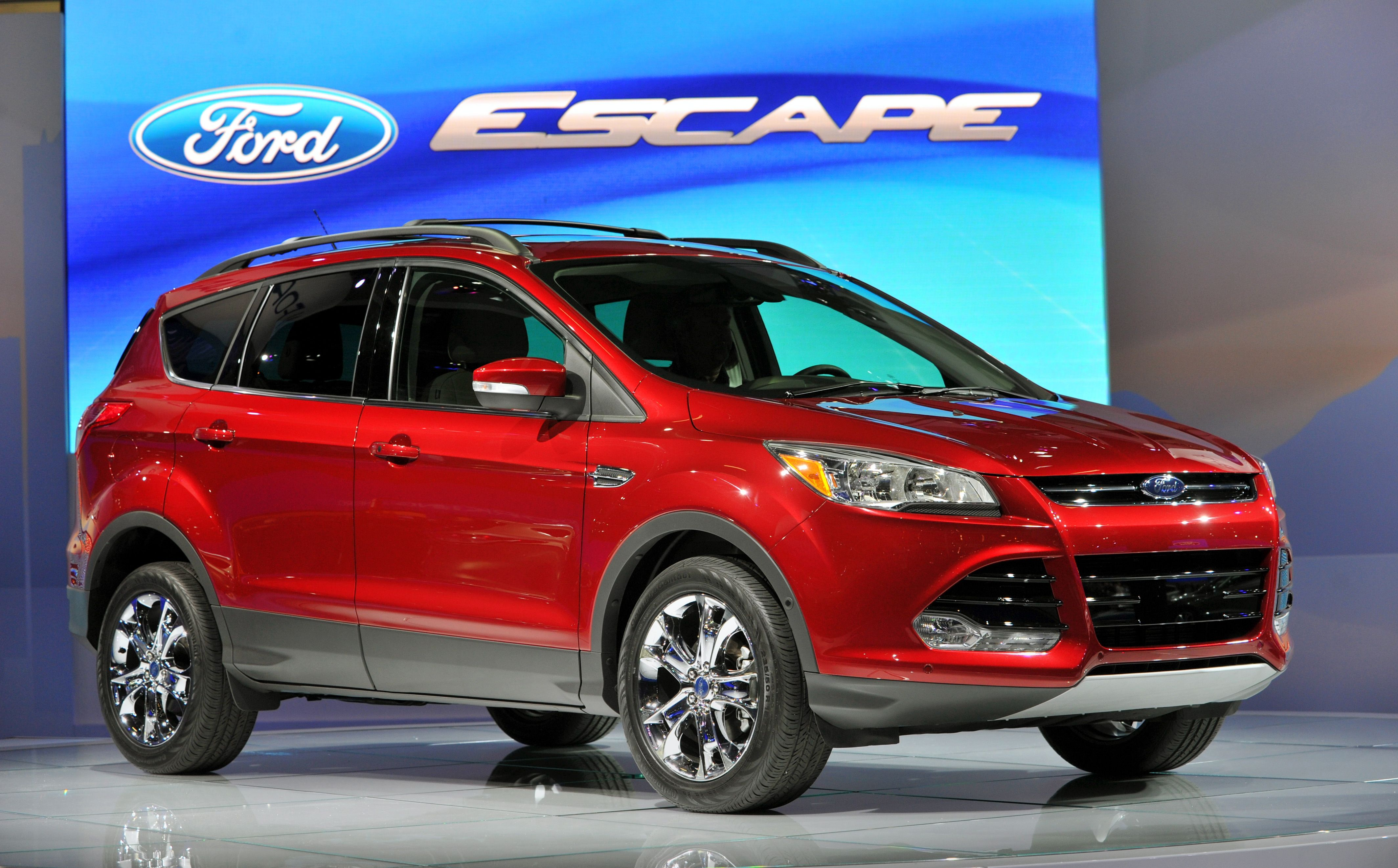 2013 Ford Escape to Get 5 Better MPG Than Previous Model