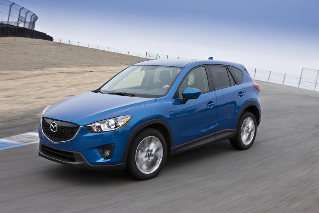 2013-MY Mazda CX-5 Draws IIHS Top Safety Pick Award