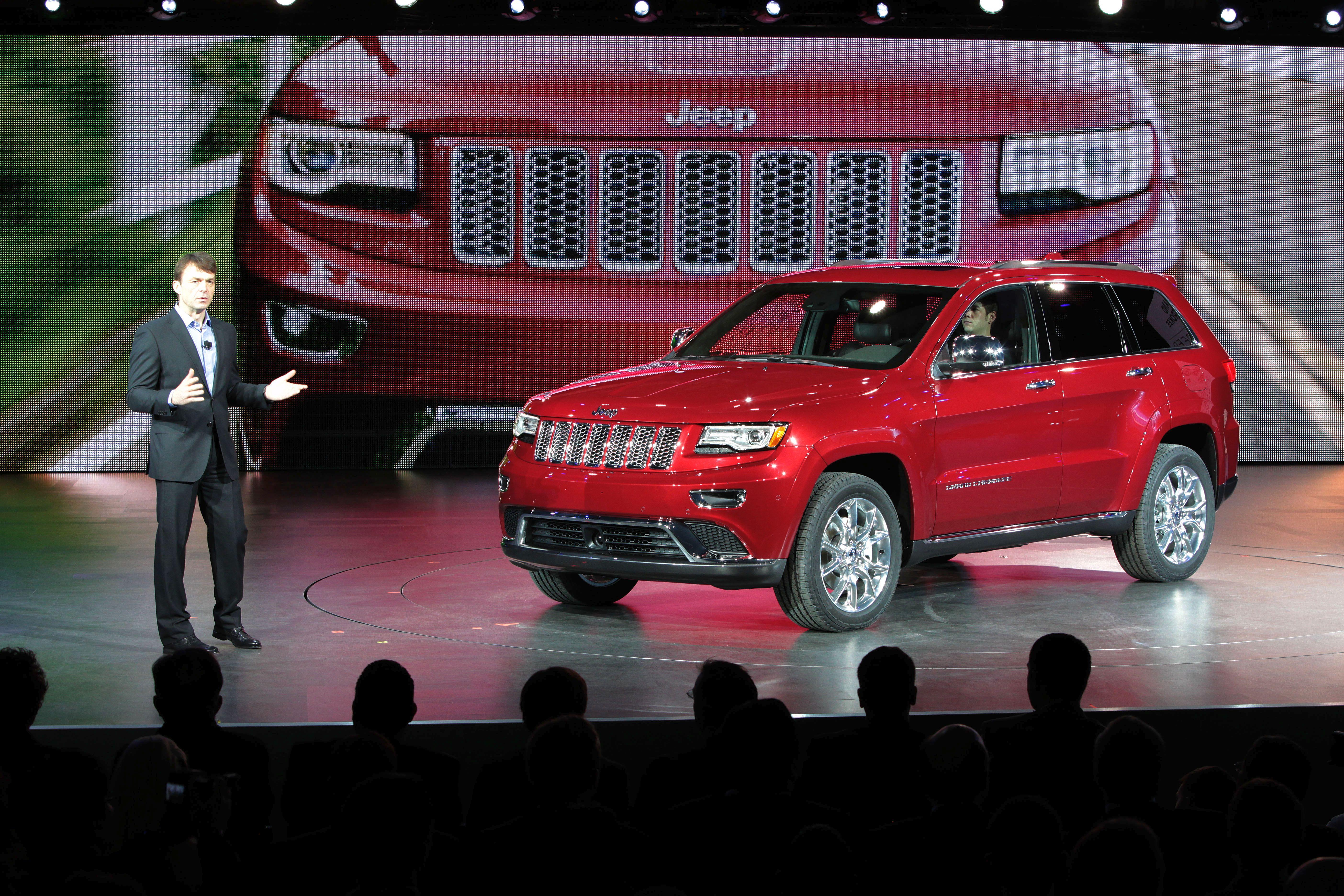 Chrysler Reveals 2014 Jeep Grand Cherokee