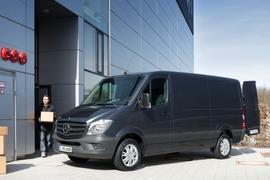 Sprinter Vans Recalled for Faulty Doors