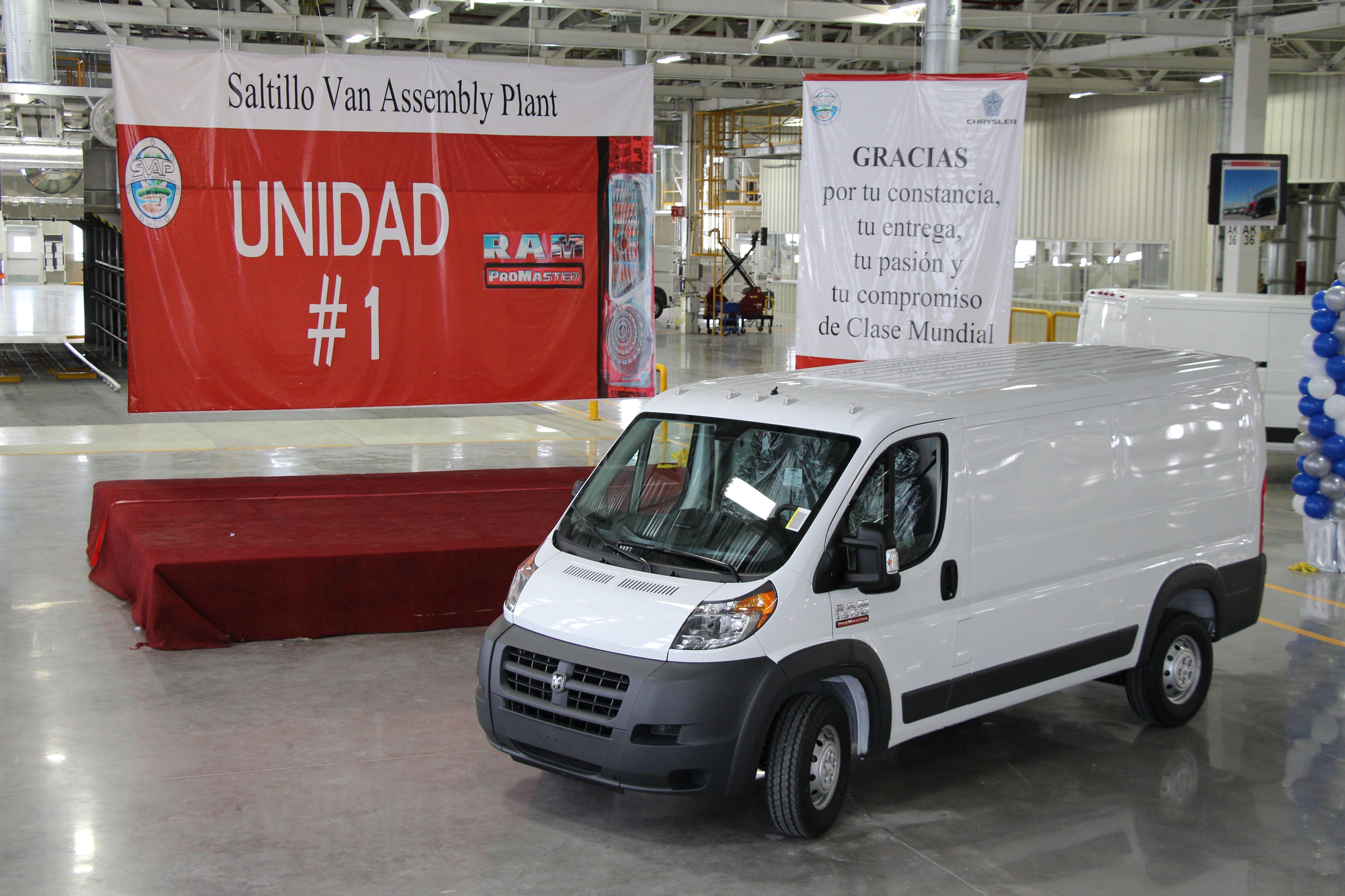 Chrysler Begins Ram ProMaster Van Production
