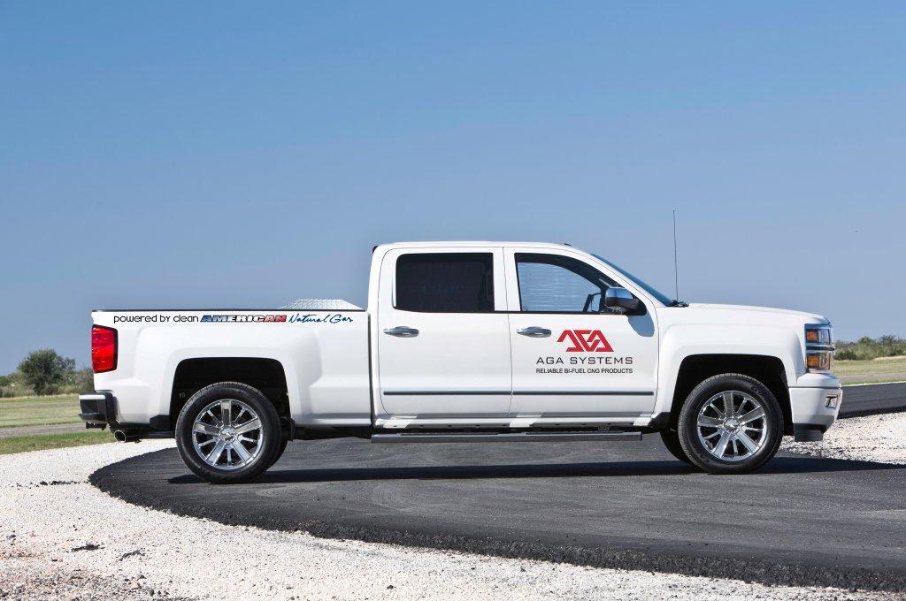 EPA Certifies AGA's Bi-Fuel CNG System for GM Trucks
