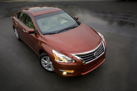 Nissan Recalls Altima for Hood Latch
