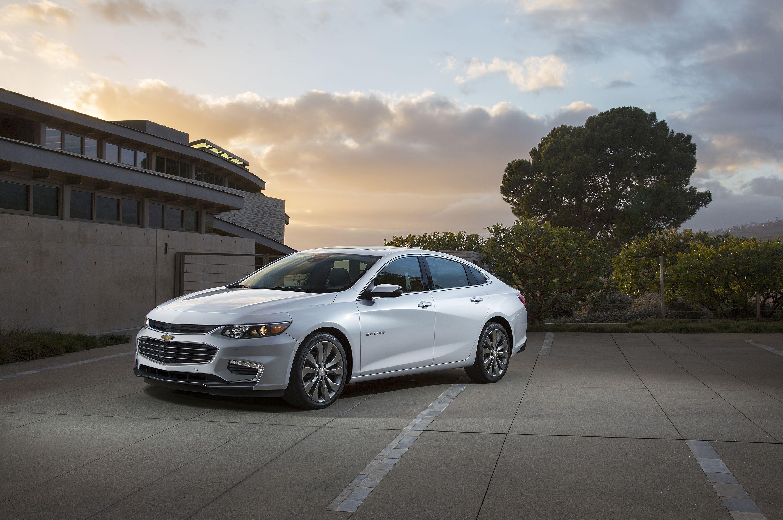 Chevrolet's 2016 Malibu Starts at $22,500