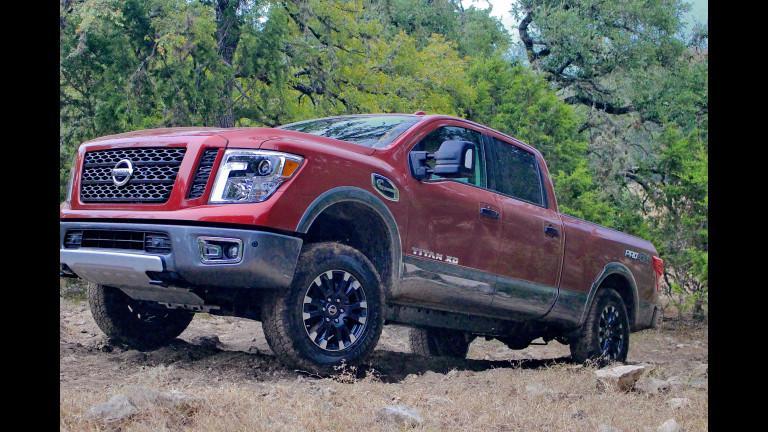 Nissan Recalls Titan Pickups for Seat Belts