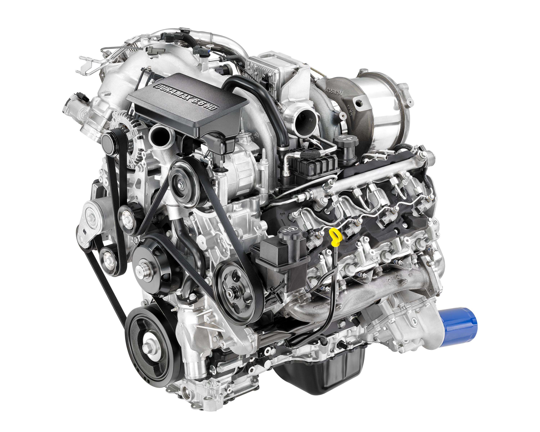 GM Redesigns Duramax 6.6L for 2017 Silverado, Sierra