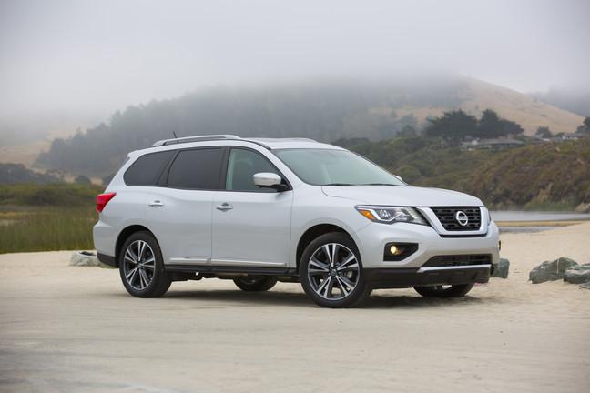 Nissan Pathfinder Draws 5-Star Safety Rating