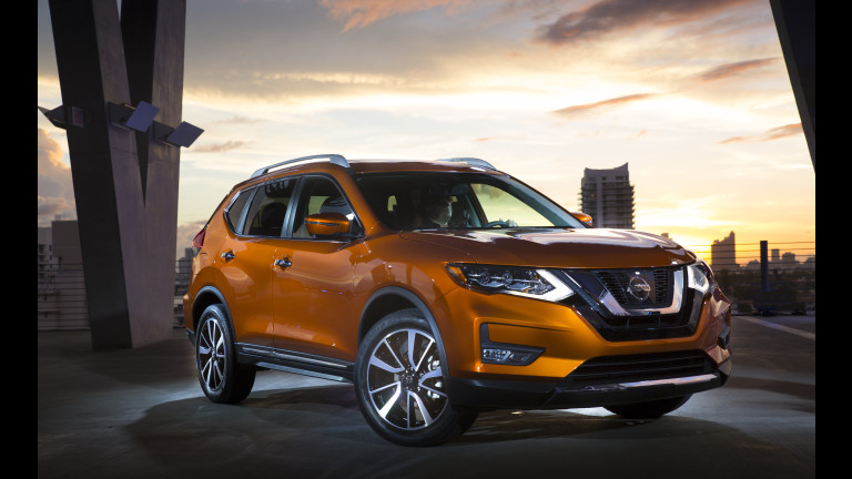 Nissan Recalls Rogue for Seat Frames