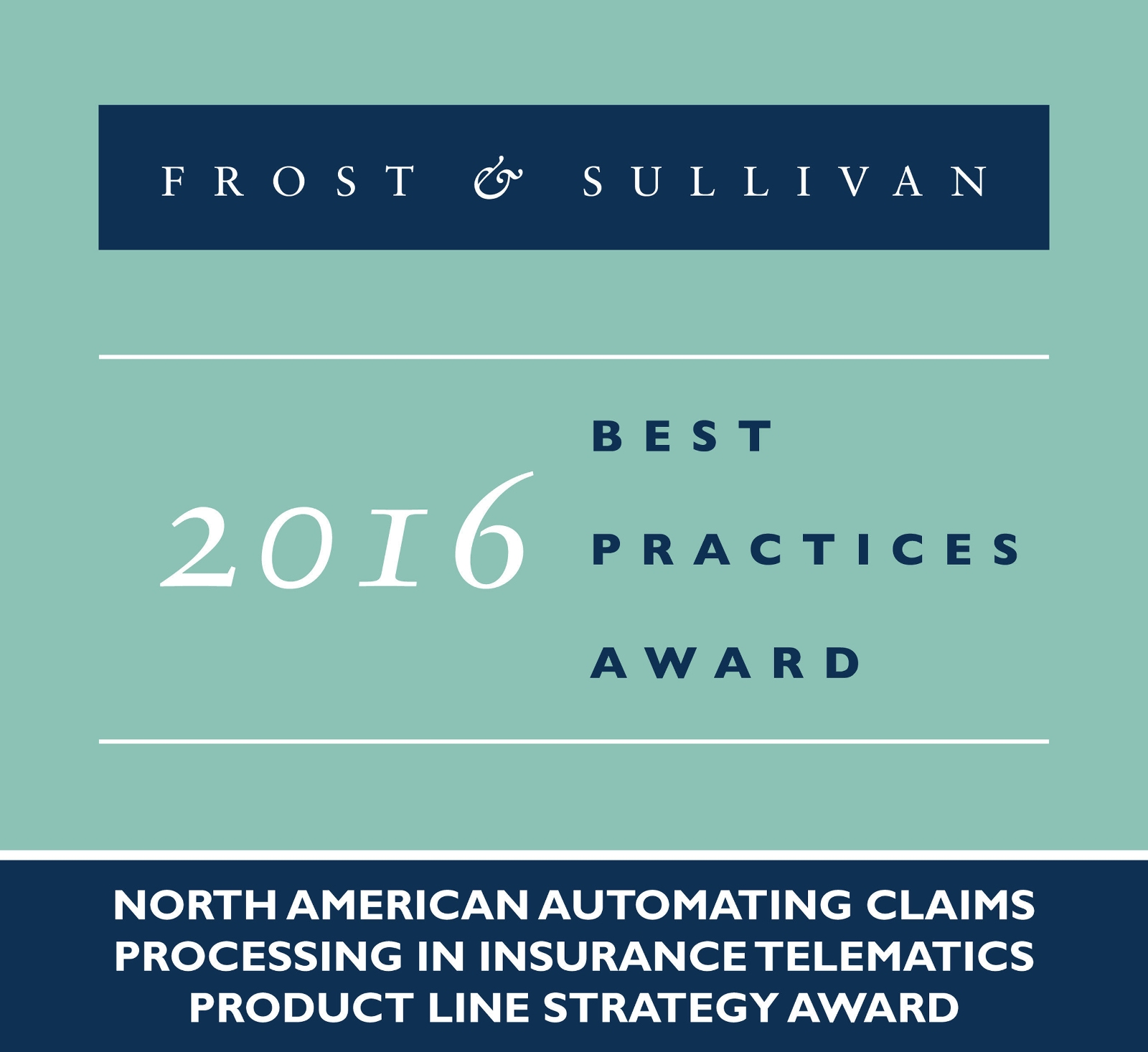 CalAmp Receives Frost & Sullivan Product Award