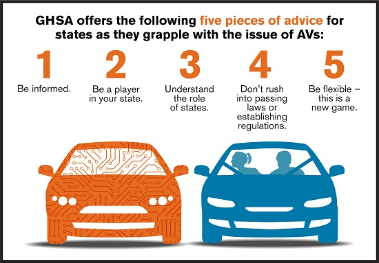 States Urged to Better Prepare for Autonomous Vehicles