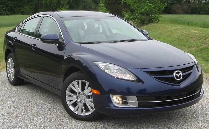Mazda6 Sedans Recalled for Air Bags
