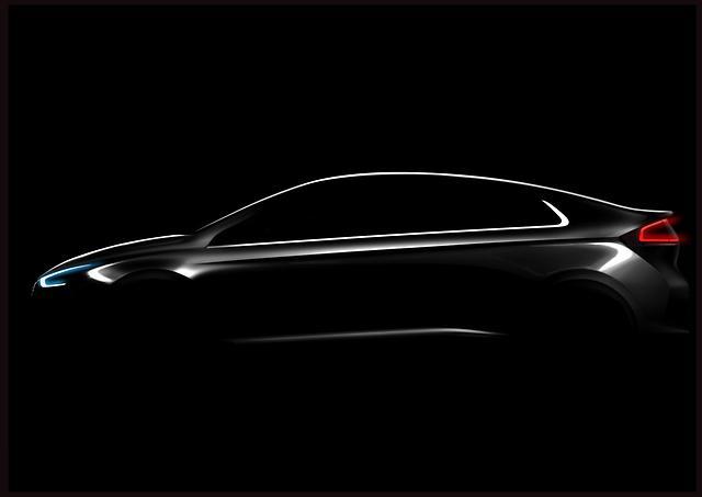 Hyundai's IONIQ to Come as EV, PHEV, Hybrid