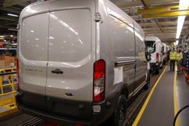 Ford Transit's KC Plant Running Full Steam Ahead