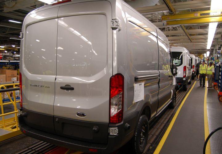 Ford Transit's KC Plant Running Full Steam Ahead