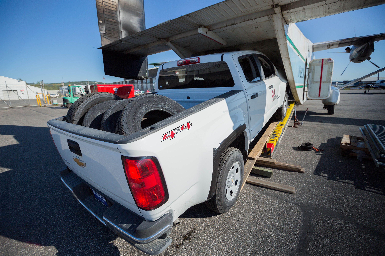 Alaska Energy Fleet Airlifts Trucks Into Service