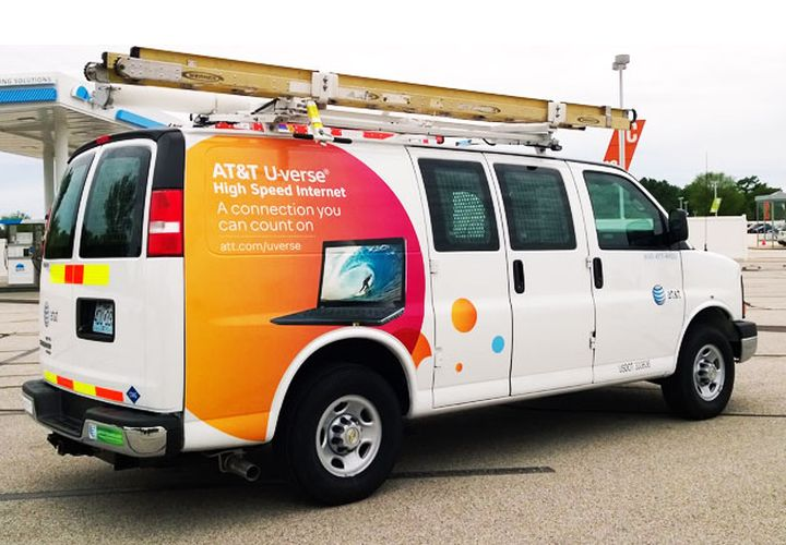 AT&T Adds Chevrolet Express As 8,000th CNG Vehicle