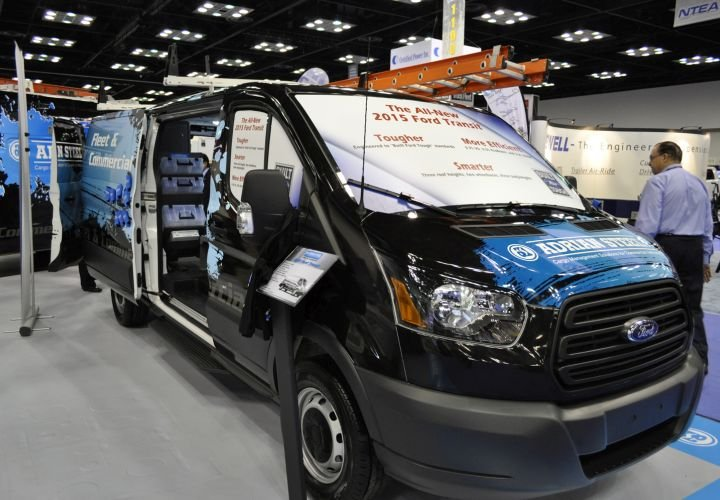 Adrian Steel Shows Ford Transit Upfit Products