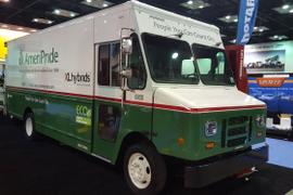 Hybrid Step Vans Saving Fuel for AmeriPride