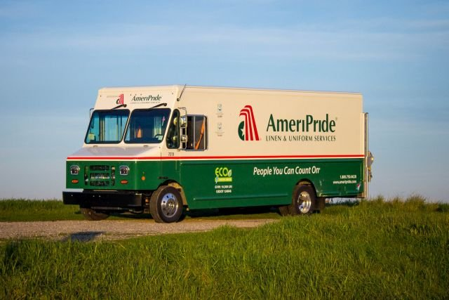 AmeriPride Plans Record Electric Walk-in Van Order