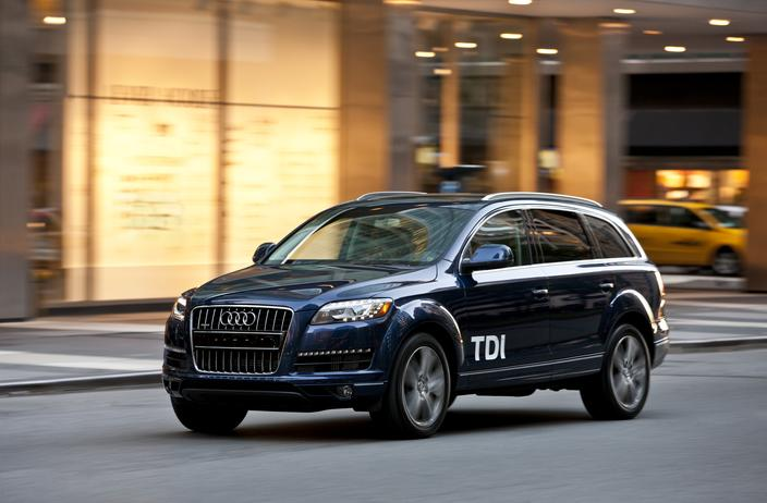 Audi Q7 SUVs Recalled for Power Braking Assist