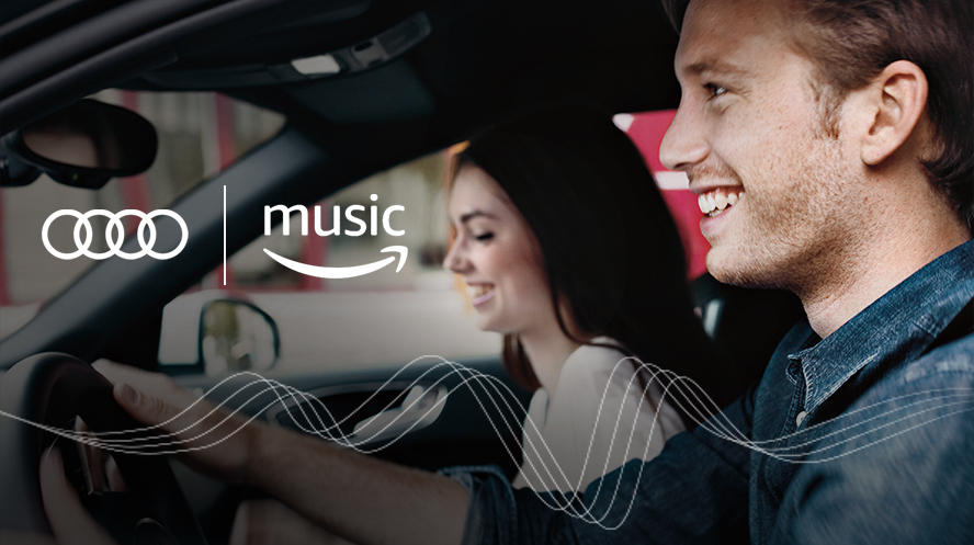Audi Integrates Infotainment Services with Amazon Music