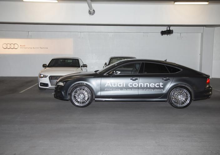 Audi Receives Two Awards for Piloted Parking Technology