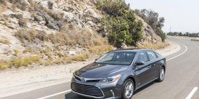 Toyota Recalls Avalon and Camry Hybrid Sedans