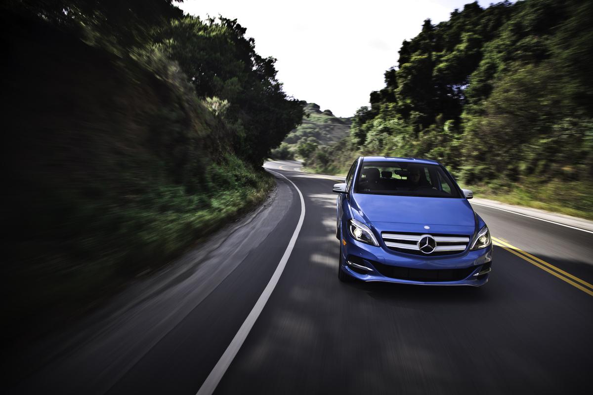 Mercedes-Benz Recalls B-Class Electric Cars