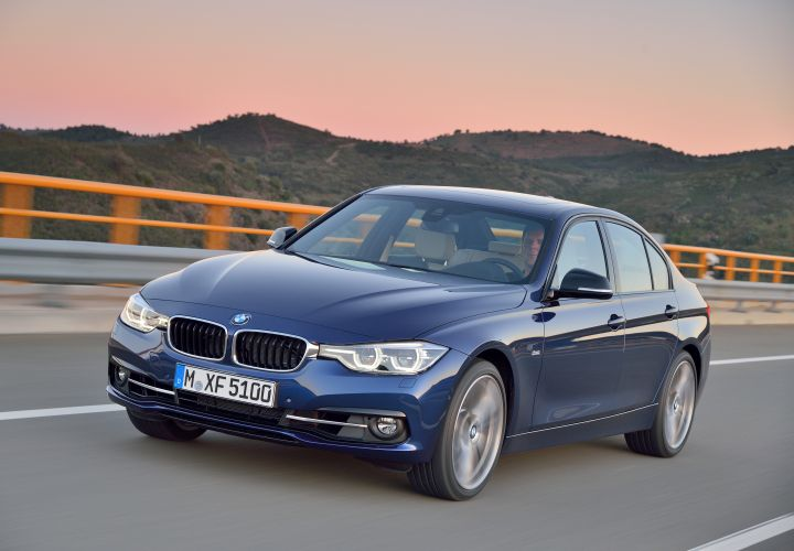 BMW's 2016 3 Series Adds PHEV