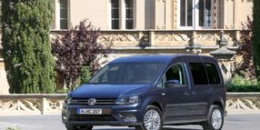 Volkswagen to Produce CNG Caddy Compact Van