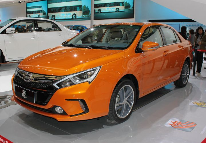 BYD to Sell EVs in Two Chinese Cities