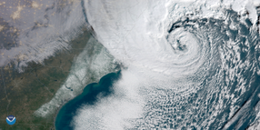 Storm Blasts East Coast with Blizzard Conditions