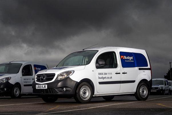 Budget UK Adds 100 Mercedes-Benz Citans to Rental Fleet