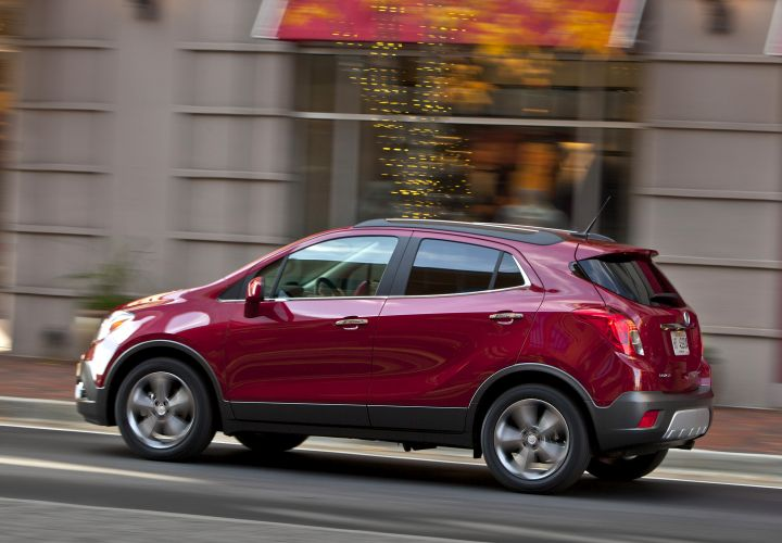 2015 Buick Encore Receives 5-Star Safety Rating