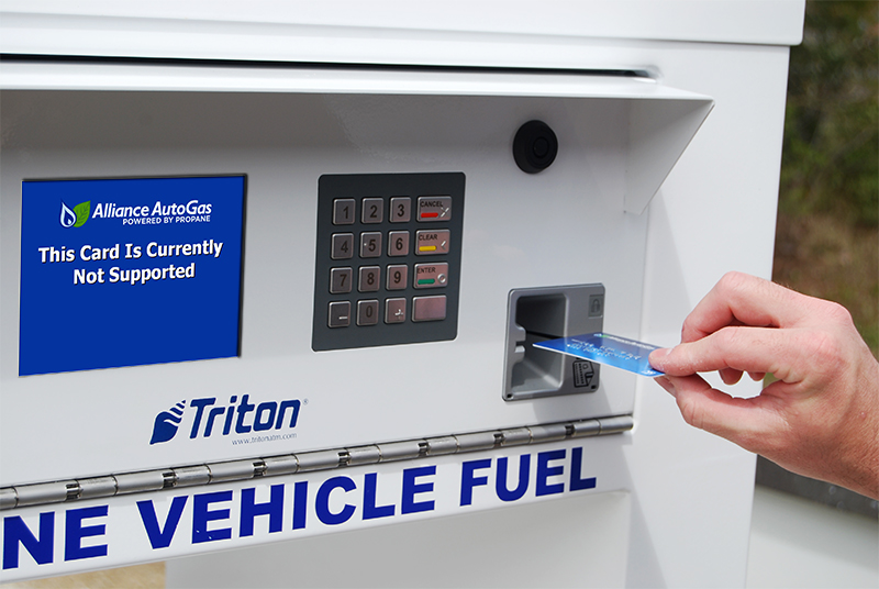 Alliance AutoGas Unveils Propane Fuel Management Dispenser