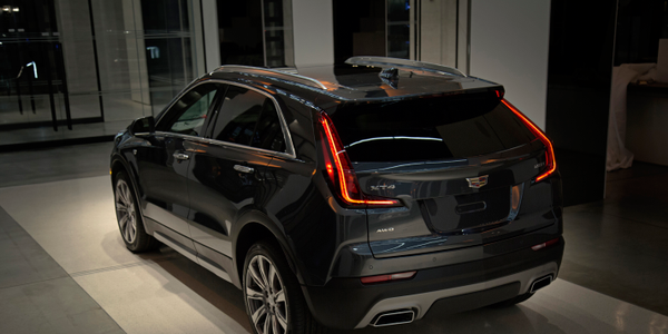 Photo of the 2019 Cadillac XT4 courtesy of General Motors.