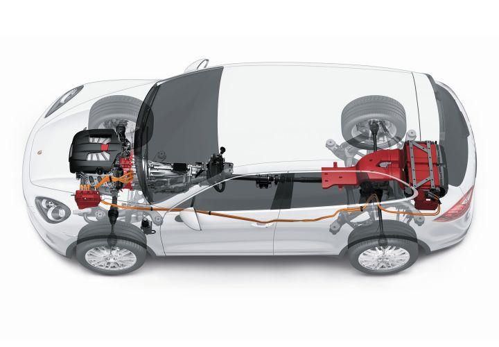 Porsche Cayenne Plug-In Hybrid Confirmed