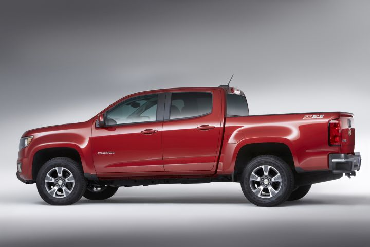 Chevrolet Colorado Improves V-6 for 2017