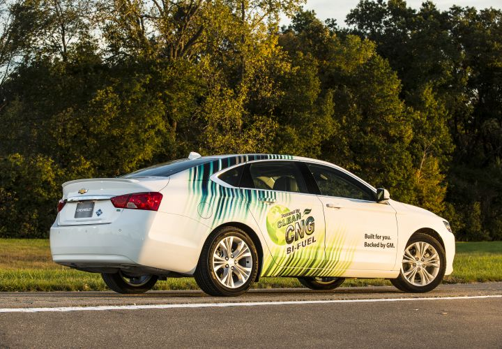 Bi-Fuel CNG Chevrolet Impala Pricing Announced