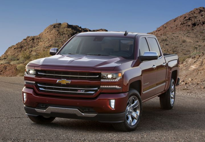 Chevrolet Silverado Gets Facelift for 2016