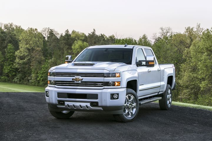 2017 Diesel Silverado HD Improves Air Intake