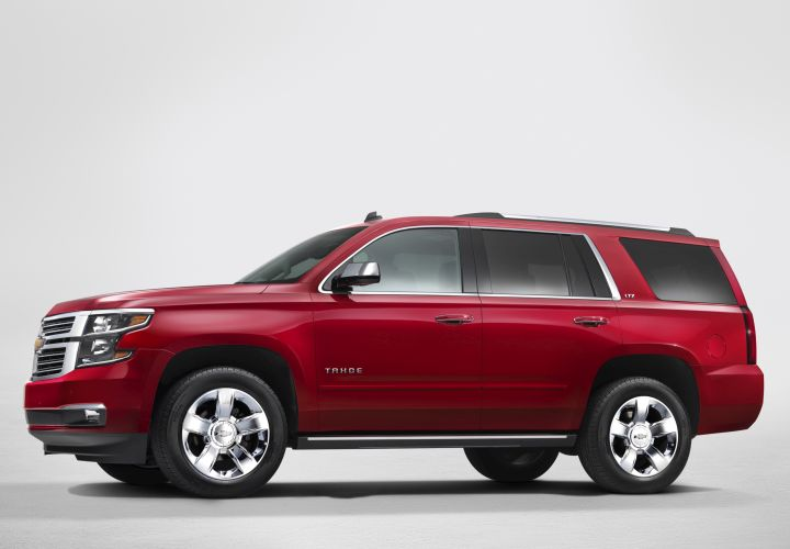 GM's 2015-MY Large SUVs Meet Towing Standard