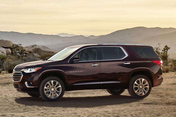 2018 Chevrolet Traverse Adds Crash-Avoidance Tech