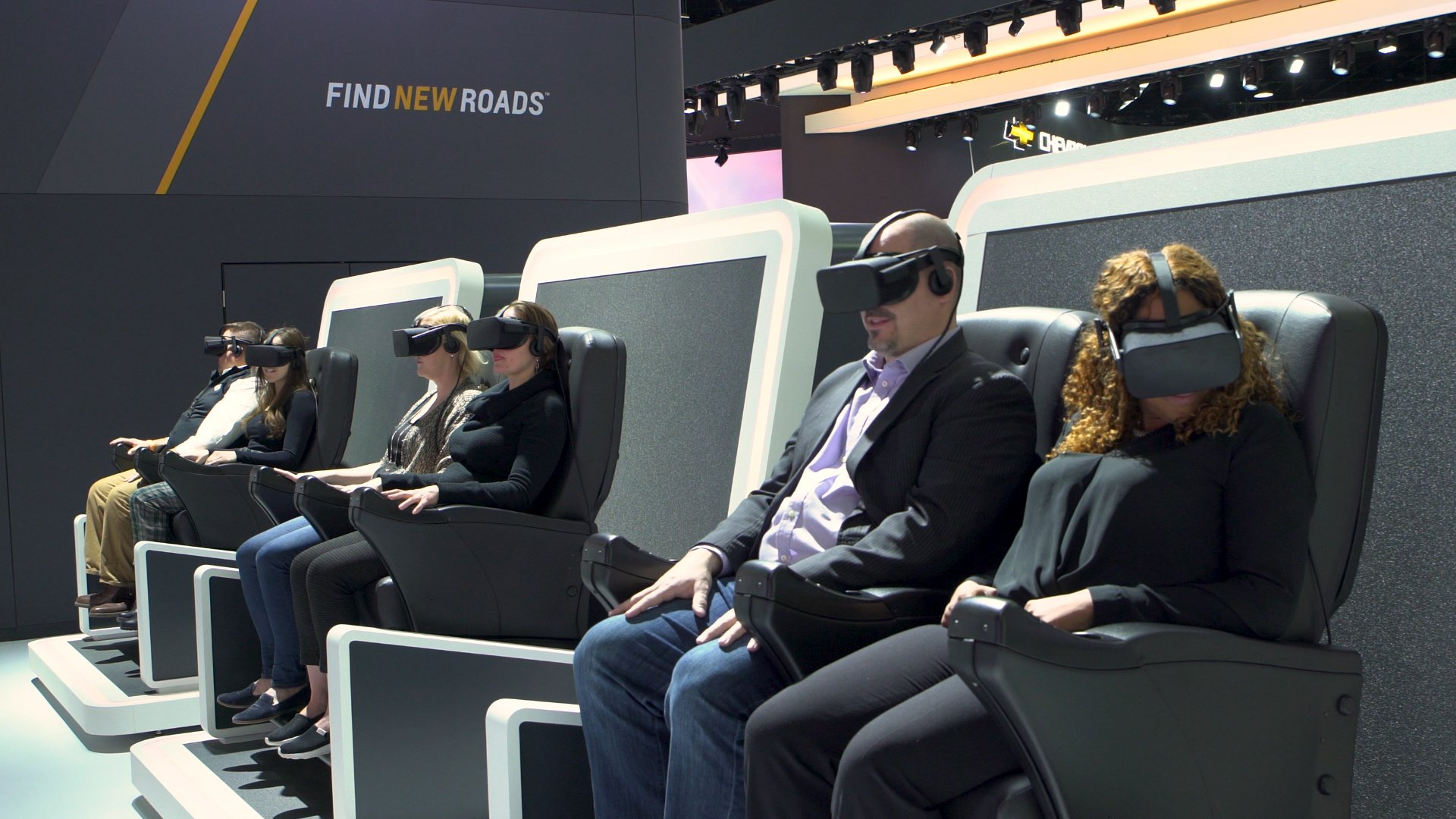 Chevrolet Offering 4-D Driving Experience at Detroit Auto Show