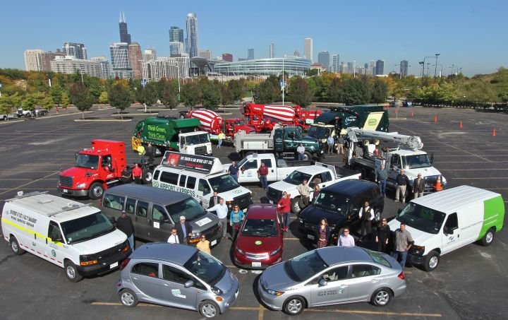 Chicago Fleets Saved 25M Fuel Gallons Last Year