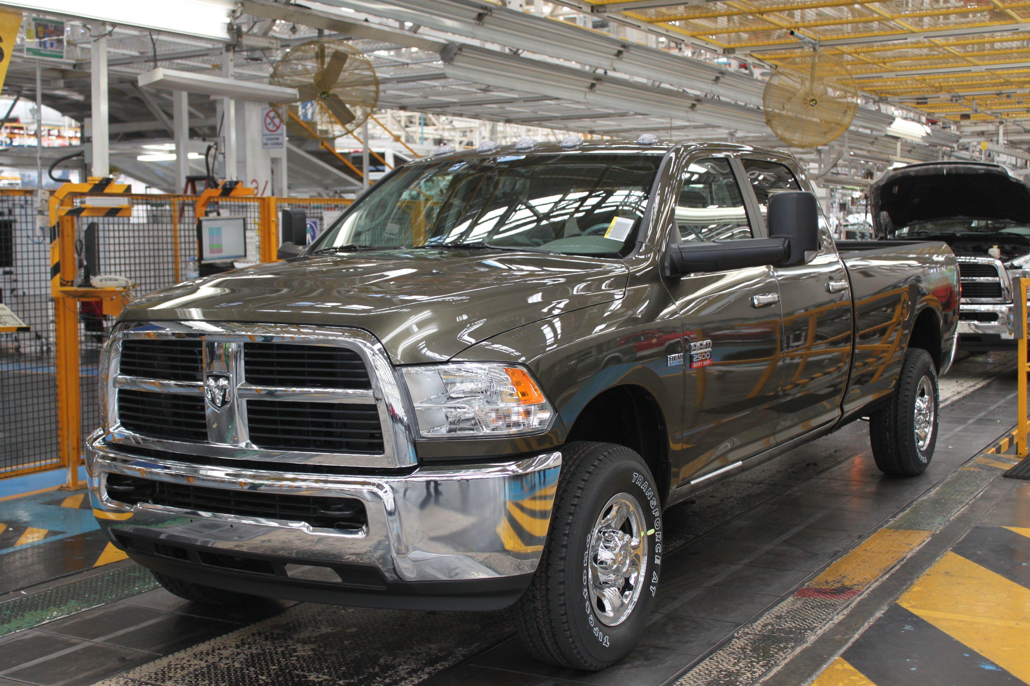 Chrysler Begins Production of Ram 2500 CNG Pickup Truck