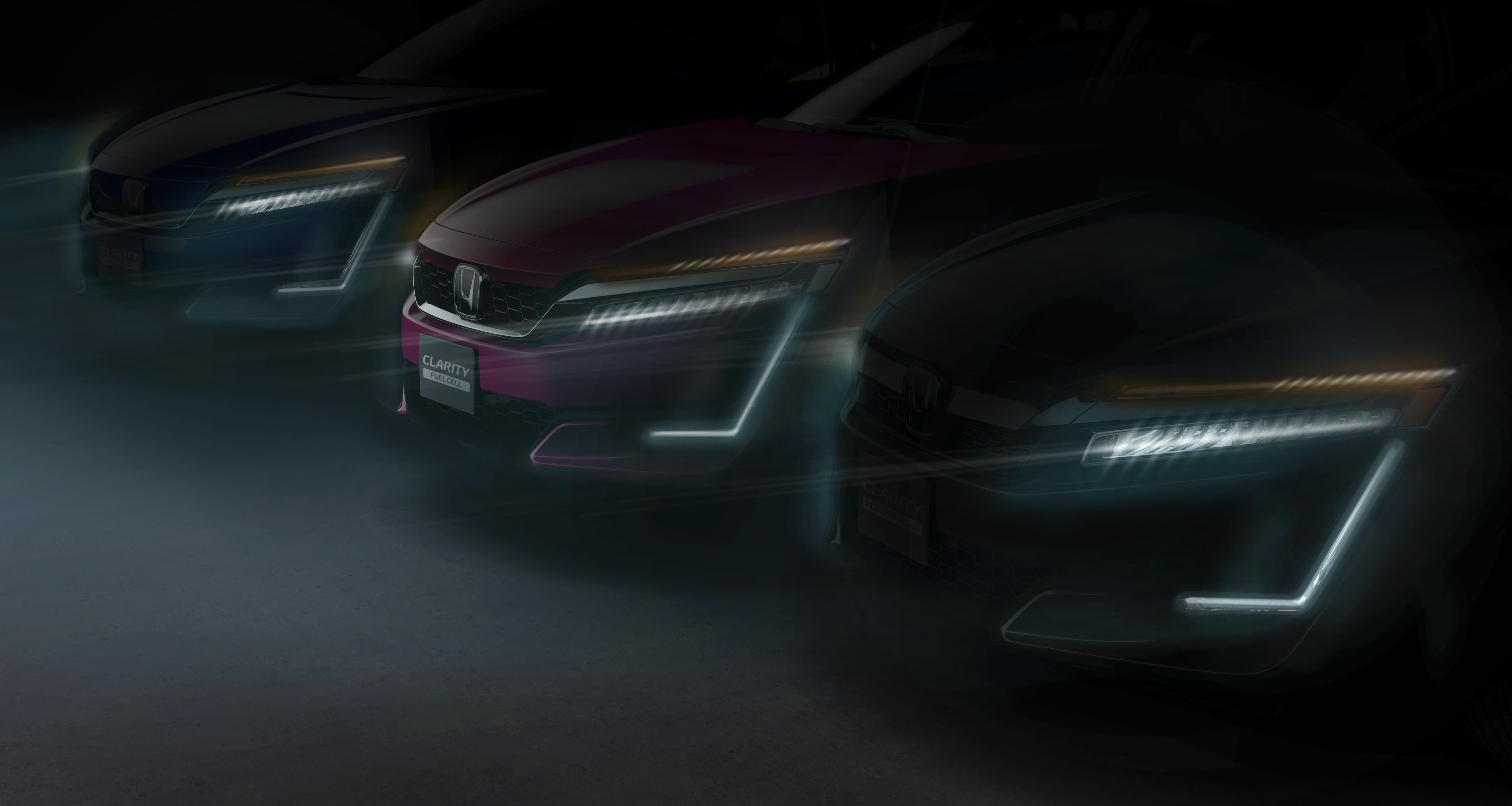 Honda Debuting PHEV, EV Clarity Cars