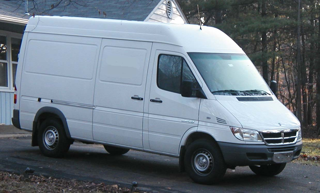 Older Sprinter Vans Recalled for Brake Warning Light